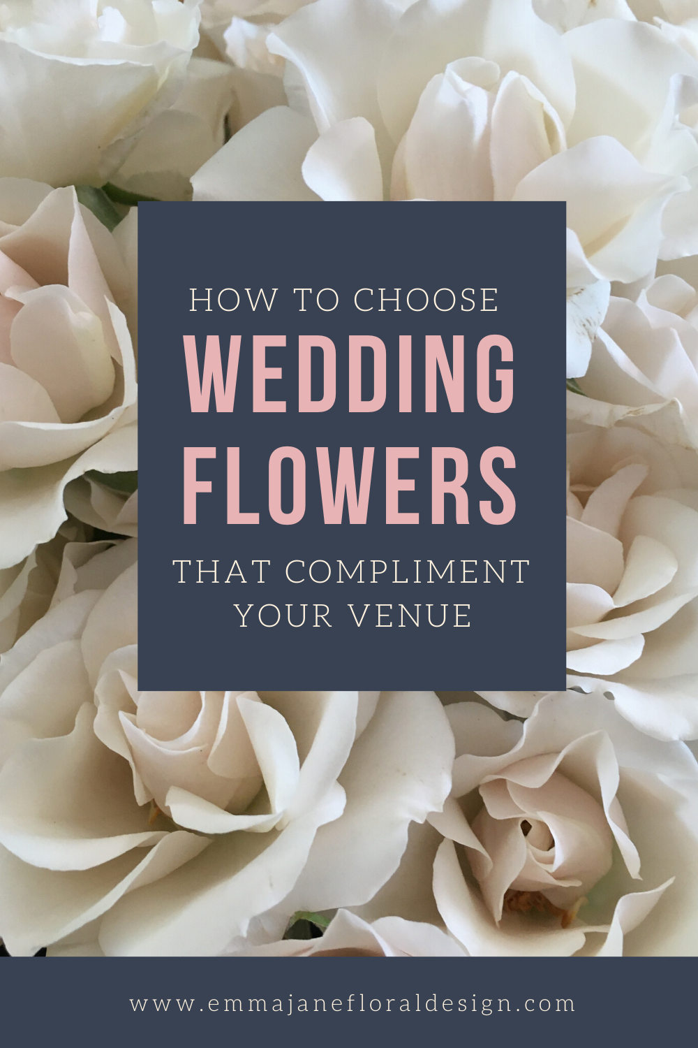 How to choose wedding flowers that compliment your wedding venue by Emma Jane Floral Design
