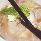 Emma Jnae Floral Design enjoys a lavender prosecco cocktail