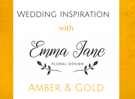 Mid Week Wedding Inspiration - Amber & Gold