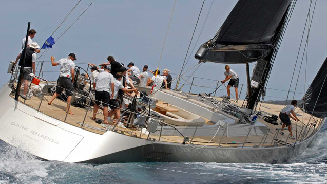 WALLY DARK SHADOW RACING YACHT CHARTER