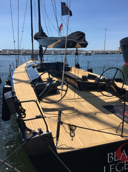 MYLIUS 60 FOR SALE I BLACK LEGEND SAILING RACING YACHT BROKERAGE