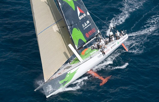 VO70 GREEN DRAGON RACING YACHT CHARTER