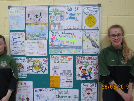 Winners of Rás 5k Poster Competition