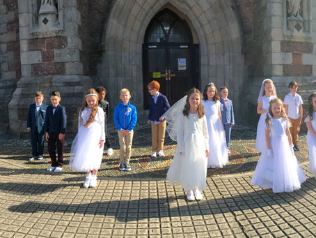 First Holy Communion in Rang a Trí