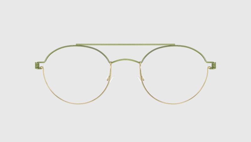 Lindberg-Rim Bruce-Gold grün
