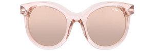 Cazal-8500-rose transparent