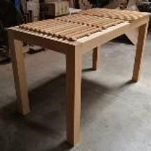 Classic Column Wooden Table Base