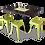 Thumbnail: Double Bar Table Base