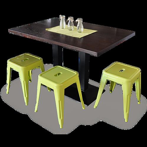 Double Bar Table Base
