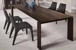 Minimalistic Wood Table Base