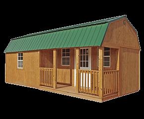 Corner Porch Lofted Barn Cabin.png