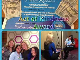 8 News Now Acts of Kindness Winner: Gabriela Foster