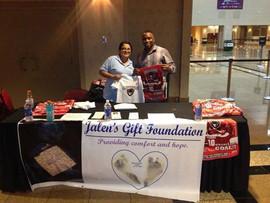 Las Vegas Wrangler's Donate $500 to Jalen's Gift Foundation