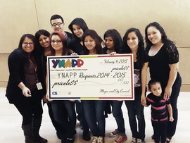 Jalen's Gift Foundation's Youth Group Receives $1,000 From The City of Las Vegas!