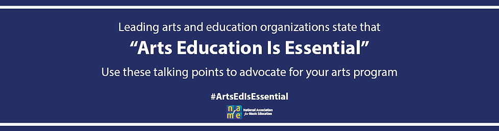 Arts Ed Is Essential rotator state edito