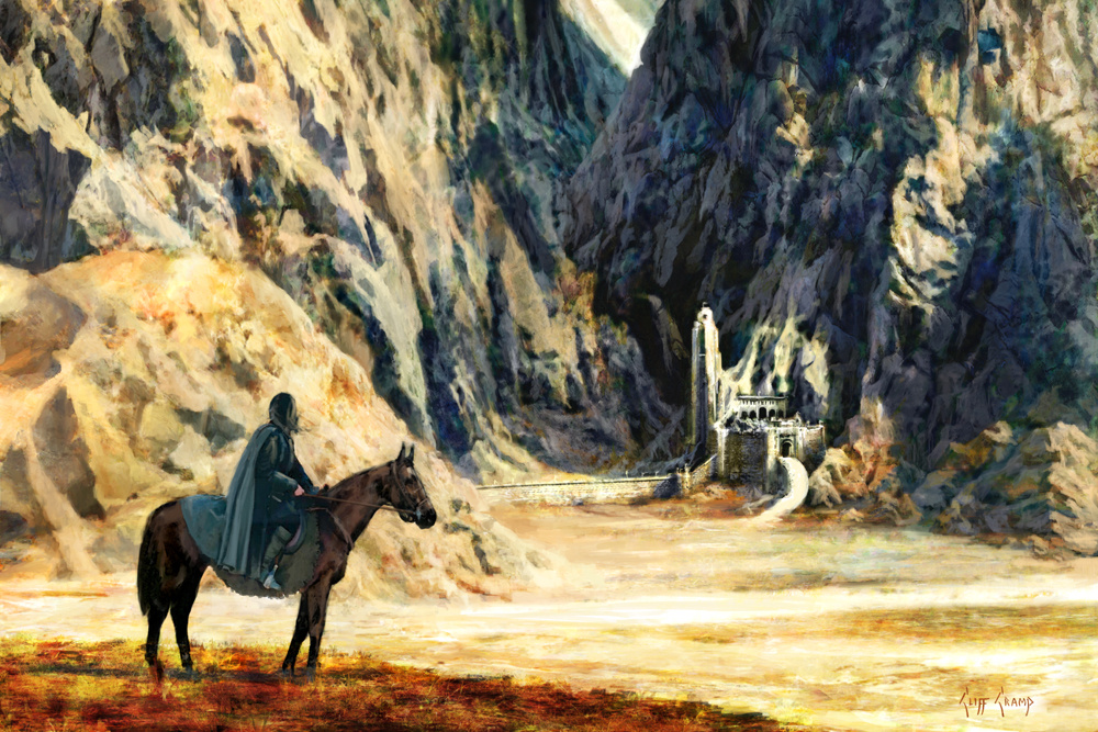 Aragorn Arrives At Helms Deep