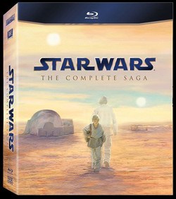 Star Wars: The Complete Saga on BluR