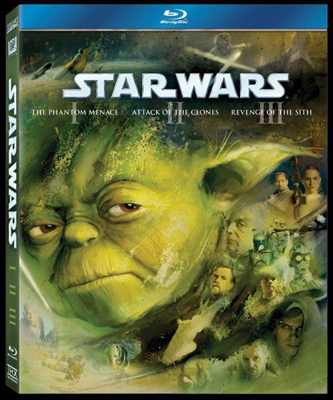 Star Wars: Episodes 1,2, 3 on BluR