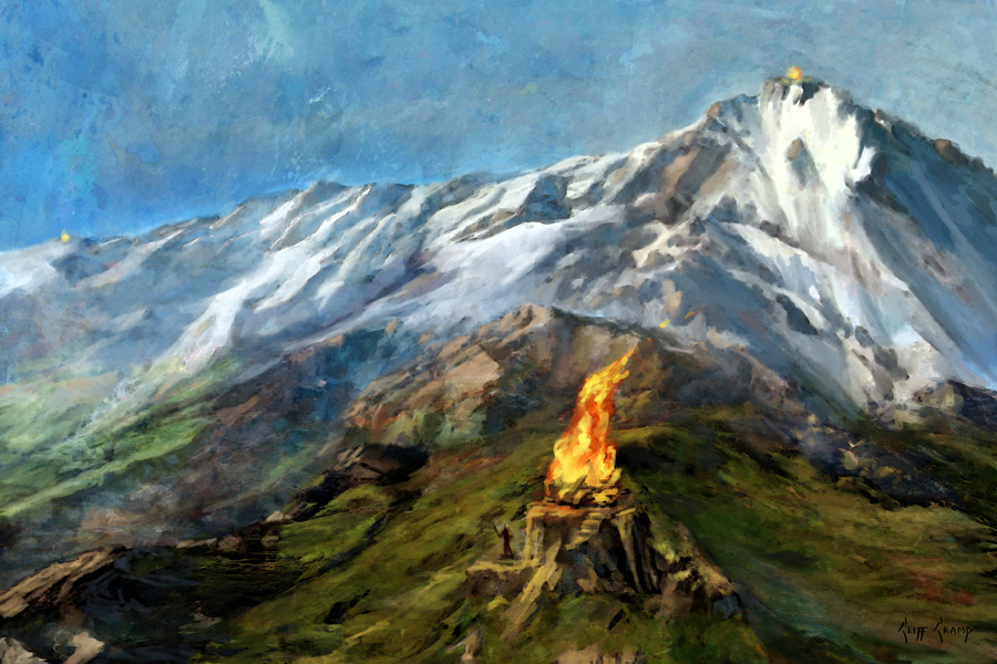 The Beacons Of Gondor