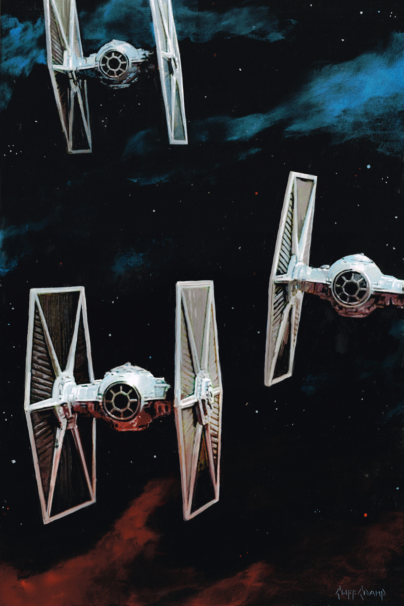 """Tie Fighters"""