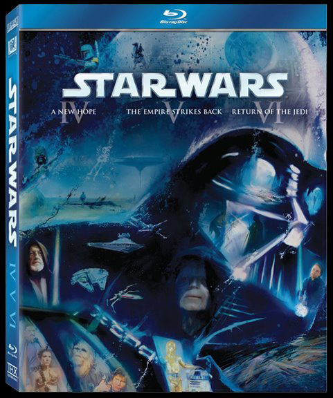 Star Wars: Episodes 4, 5, 6 on BluR