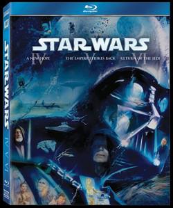 Star Wars: Episodes 4, 5, 6 on BluR