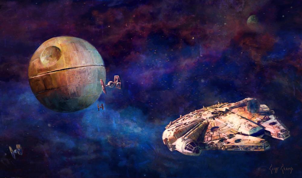 """Millennium Falcon"""