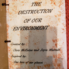Cover of The Destruction of our Environmnet