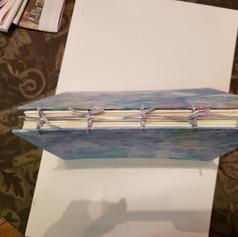 Binding of my first art journal