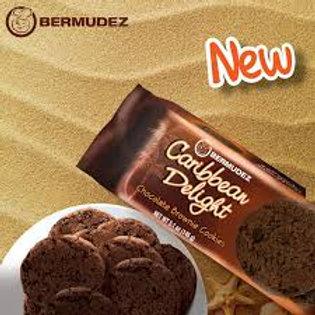 Bermudez  Caribbean Delight  Chocolate Brownie Cookies 145g