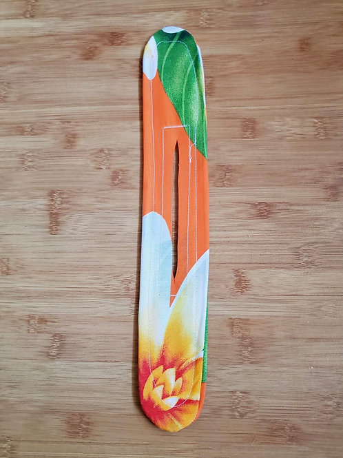 Orange, White & Green