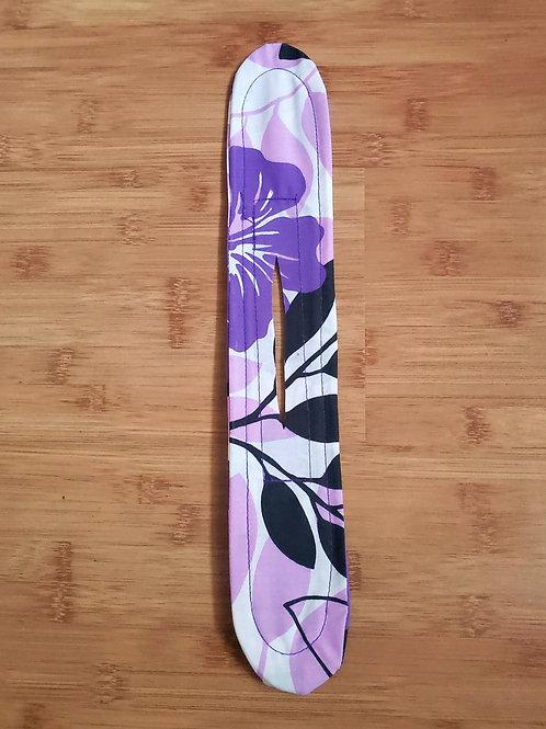 Purple Hibiscus with Black & White