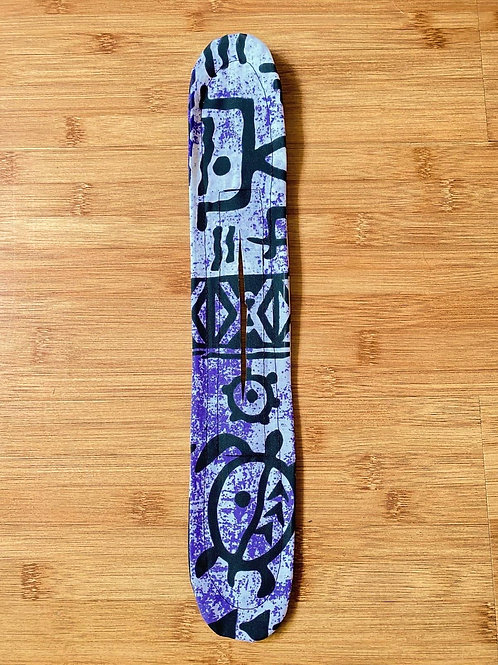 Purple Petroglyphs