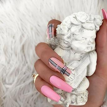Pink Burberry