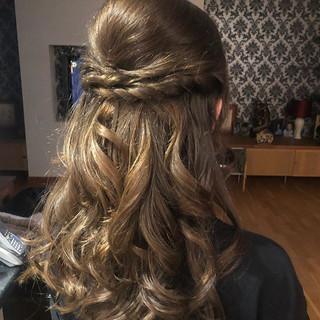 Bridal updo ✨💇♀️ •_•_#hair #updo #curl