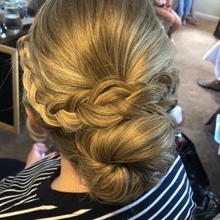 Braided updos ✨_•_•_#brightonmua #hair #