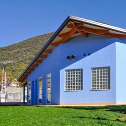 Edificio scolastico in Xlam