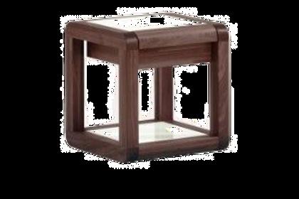 Tables de chevet Fregate en bois massif