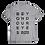 "Thumbnail: ""3-Column Logo"" T-shirt"