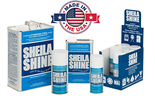Sheila Shine Stainless Steel Cleaner - 10 Oz.