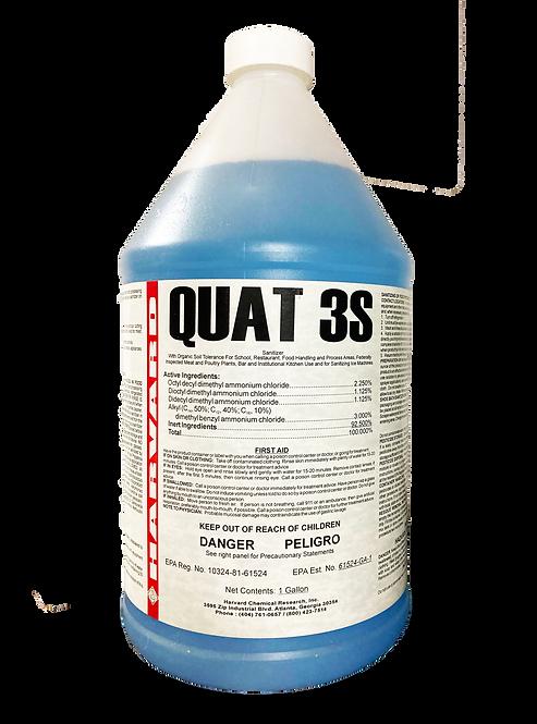 QUAT 3S Multi‐Use Disinfectant & Sanitizer