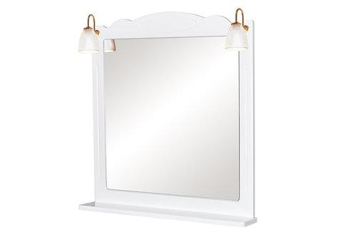 Miroir Classique 80 Blanc