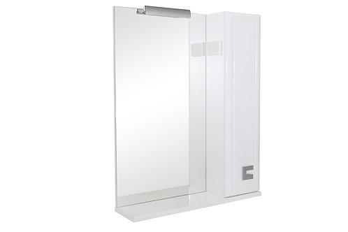 Miroir Mobis 65 avec armoire côté droit
