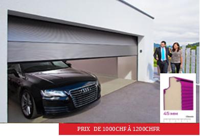 Porte de Garage Complète sectionnelle
