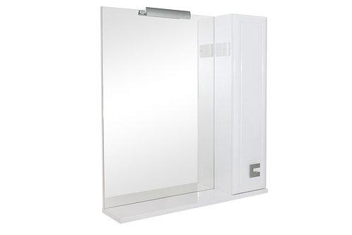 Miroir Mobis 70 avec armoire côté droit