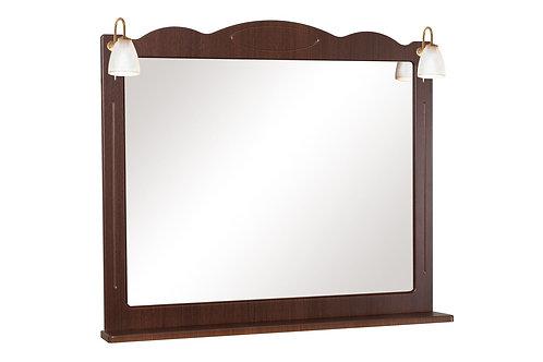 Miroir Classique 100 noyer italien