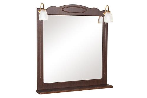 Miroir Classique 80 noyer italien
