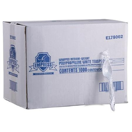 Empress™ Plastic SpoonHeavy Weight - CASE/1000