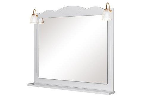 Miroir Classique 100 Blanc