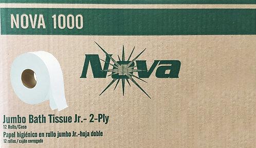 NOVA 1000 Bath Tissue JR., 2-ply - 12 roll CASE